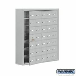 Cell Phone Storage Locker - With Front Access Panel - 7 Door High Unit 8 Inch D