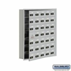 Cell Phone Storage Locker - With Front Access Panel - 7 Door High Unit 5 Inch D