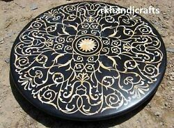 Shiny Mother Of Pearl Stones Marble Reception Table Top Inlaid Dining Room Table