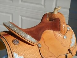 Western Show Saddle Mclelland's Custom Show Special
