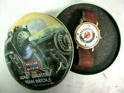 Lionel Collectible Train Watch Original Tin Packaging Model Railway Accessories