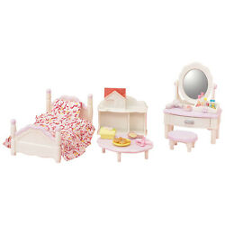 Calico Critters Bedroom And Vanity Furniture Set New In Stock