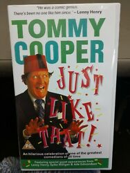 Tommy Cooper Just Like That VHS Video Tape $12.35