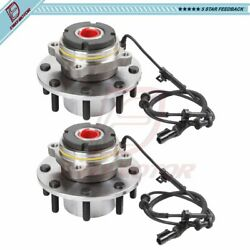 2x Front Wheel Hub Bearing For Ford Course Threads Abs Before 3/21/99 Drw 4x4
