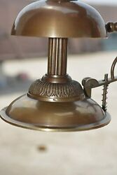 Antique Style Bell Ornate Solid Brass Hotel Counter Desk Call Service Bell