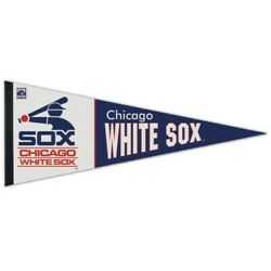 Chicago White Sox Premium Quality Pennant 12x30 Banner Cooperstown Coll.