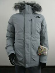 Mens The Defdown Gtx 2 Down Parka Warm Insulated Gore Tex Jacket Grey