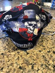 GratefulDead Handmade Pleated Face Mask cottonjersey washable $8.99