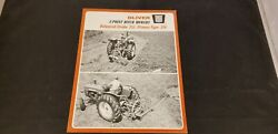 1966 Oliver 3 Point Hitch Mowers Balanced Stroke 351 And Pitman Type 356 Brochure