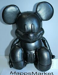 Nwt Authentic Disney X Coach Mickey Mouse Leather Collectible Doll F59151 Small