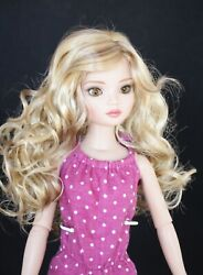 Little Darling, Boneka, Bjd's And Others Ginger Wig Sizes 5-6, 6-7, 7-8