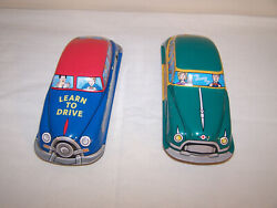 Schyllin Tin Cars 1 Friction And 1 Wind Up