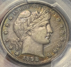 1898-s Barber Half Dollar Pcgs Xf40 Look At All The Pics