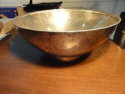 Vintage Large Footedtiffany And Co.sterlingcenterpiece Bowl43.2 T.oz1907-1947