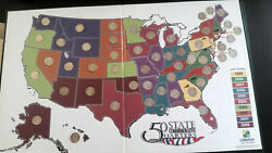 1999-2008 Complete Fifty 50 Us State Commemorative Quarters Coin Set Littleton