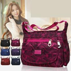 Waterproof Single shoulder Messenger Crossbody Bag Nylon Purse Travel Women Lady $14.59