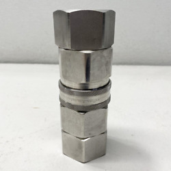 Snap-tite 1-1/4 Npt Hydraulic Hose Coupling Stainless Steel Svhc-20
