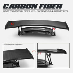 For 06-12 Porsche Cayman 987 Rs Type Carbon Fiber Rear Trunk W/ Gt Spoilers Wing