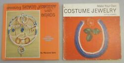Creating Silver Jewelry From Beads And Make Your Own Costume Jewelry 2 Vtg Mcm Mod
