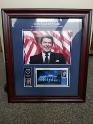 Usps American Stamp Collectible, President Ronald Reagan 40th President Usa
