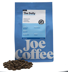 Joe Coffee 'the Daily' Blend, Rfa Certified Whole Beans From Colombia Peru, 12