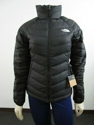 Womens The Tnf Flare Full Zip 550-down Winter Packable Jacket - Black