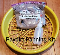 Gold Panning Paydirt Kit 1/2 Classifier Screen Mesh Made In Usa Mining Supply