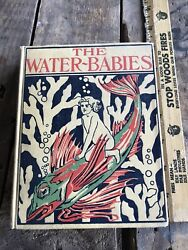 Vtg Antique Childrens Book Hc 1899 The Water Babies Charles Kingsley Illustrated