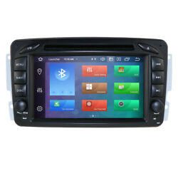 4+64gb Android 10.0 Car Dvd Gps Stereo Nav For Mercedes Benz A-w168 C-w203 Radio