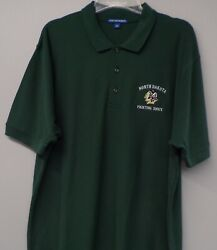 North Dakota Fighting Sioux Logo Mens Embroidered Polo Xs-6x Lt-4xlt New