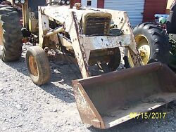 International 656 Utility Tractor Only Selling Parts
