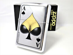 Playing Cards Spade Ace Boobs Tits Bazongas Zippo 1999 Unfired Rare   350205f1