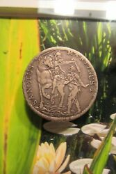 1753 Italy Lucca Tuscany Saint Martian And 1736 Papal State Testone Km875 Scarce