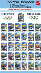 Summer 2020 Hot Wheels Tokyo Olympicsyou Pickm Case Save On Shipupdate 11/21