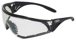 Global Vision Python Clear Foam Padded Safety Glasses Sports Wrap Motorcycle Z87 $11.24