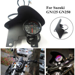 For Gn125 Gn250 12v Motorcycle Tachometer Guage W/windshield Headlight Cover