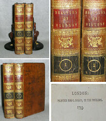 Antique Decorative Leather Binding Book Set On Virtue And Vices Ethics Morals 1793