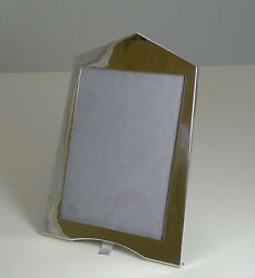 Vintage English Sterling Silver Photograph / Picture Frame - Art Deco - 1921