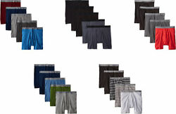 Hanes Ultimate Men's Fashion Dyed Boxer Briefs 5 Pack
