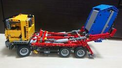 Lego Technique 42024 Container Track Series Assembled Plastic Model Seal