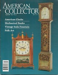 American Collector Magazine April 1997 Antiques / Advertising / Collectibles