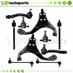 10 Front Suspension Kit Control Arms Ball Joints Fits 2005-2009 Hyundai Tucson