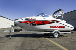 Challenger 180 Sticker Seadoo Full Kit Graphic Replacement 2005 2010 Reaper