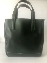 Woman Green Authentic Coach Bucket Handbag sz M $50.00