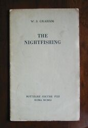 W.s. Graham - Rare 1951 The Nightfishing 1/50 Copies First Appearance