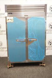 New Traulsen Two Section Pass Through Heated Holding Cabinet Model Rw232np-x0072