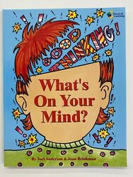 What's On Your Mind By Joan Brinkman And Joel Anderson Trade Paper