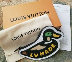NWT RARE SOLD OUT Louis Vuitton x Nigo DUCK COIN CARD HOLDER CHARM N60388