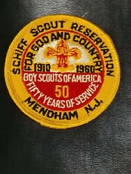 1960 Schiff Scout Reservation Patch Boy Scouts Of America