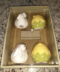 Pier One 1 Imports 4 Place Card Holders Easter Chick Bunny
